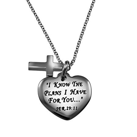 """I Know"" Sweetheart Necklace"