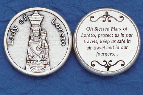 Lady of Loreto / Travel Pocket Token