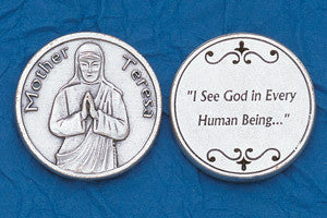 Mother Teresa Pocket Token