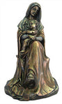 Madonna and Child Bronze Statue