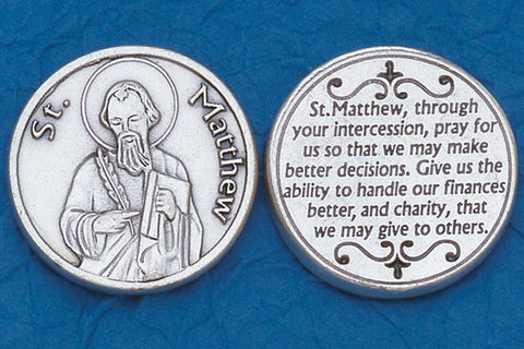 St. Matthew Pocket Token