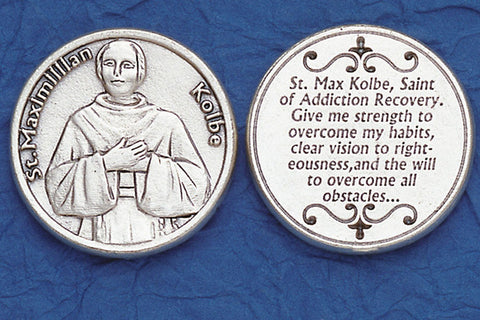 St. Maximilian Kolbe / Addiction Pocket Token