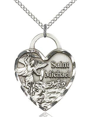 St. Michael Heart Medal