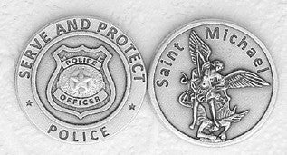 Police / St. Michael Pocket Token
