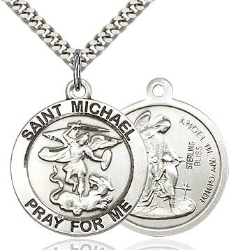 St. Michael Pray for Me Medal