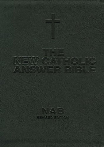 New Catholic Answer Bible (NABRE) Large Print Bonded Leather