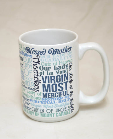 Titles of Mary Mug