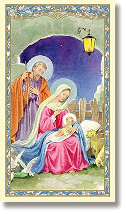 Nativity Holy Card