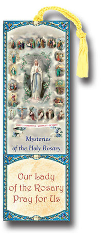 Mysteries of the Rosary Bookmark