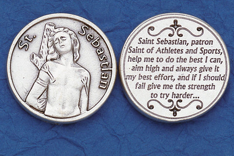 St. Sebastian / Athletes Pocket Token