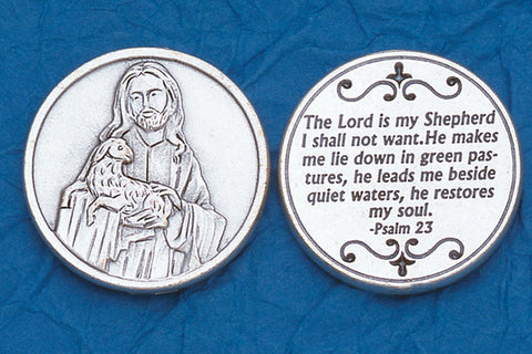 Psalm 23 Pocket Token
