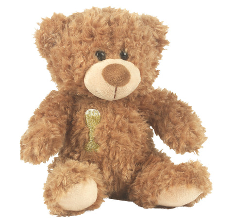 COMMUNION TEDDY BEAR BROWN
