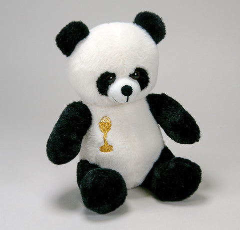 COMMUNION TEDDY BEAR PANDA