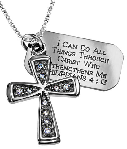 """I Can Do All Things"" Necklace"