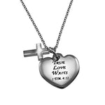 """True Love Waits"" Sweetheart Necklace"
