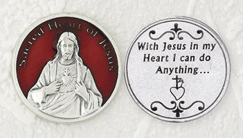 Sacred Heart of Jesus Pocket Token