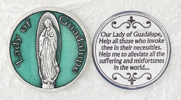 Lady of Guadalupe Pocket Token