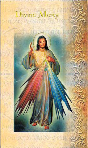Divine Mercy Folded Card