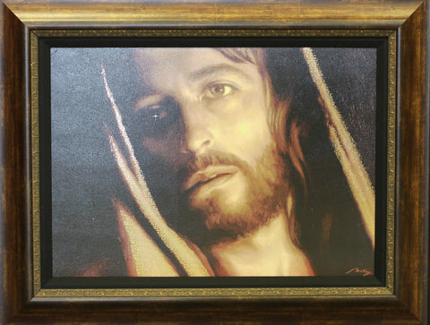 Face of Christ 29 x 38""