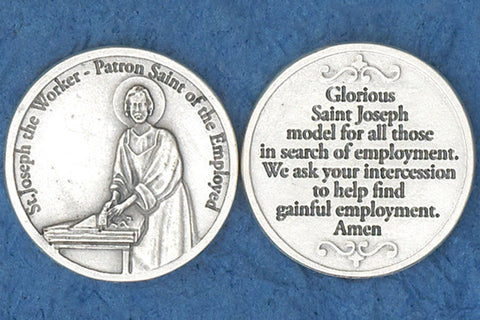 St. Joseph the Worker Pocket Token