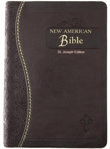 Saint Joseph Bible (NABRE) Black Bonded Leather