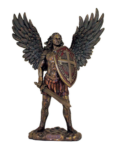 St. Michael Statue By Veronese w/o Devil, Bronze