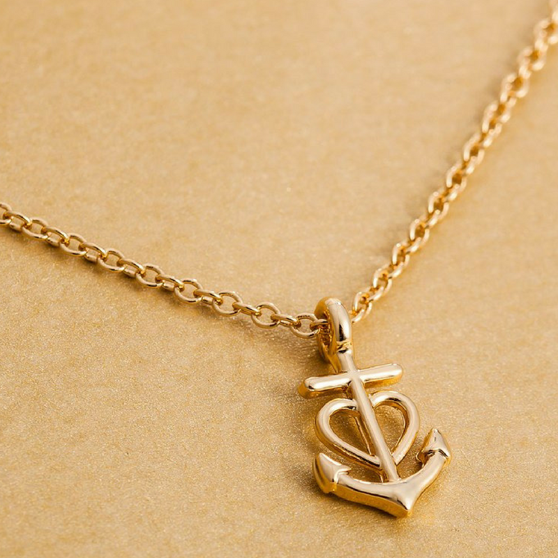 Love Anchor Necklace