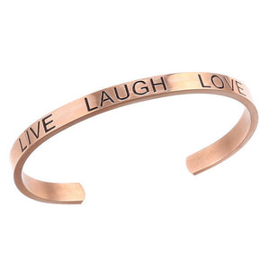 LIVE LAUGH LOVE Bracelet