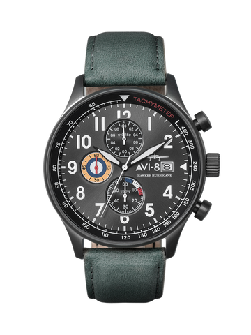 MILITARY GREEN CLASSIC CHRONOGRAPH 1