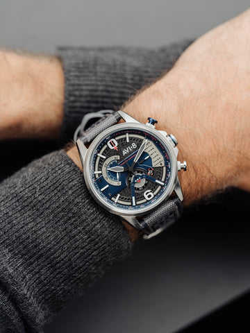 Marine Grey DUAL RETROGRADE CHRONOGRAPH 1