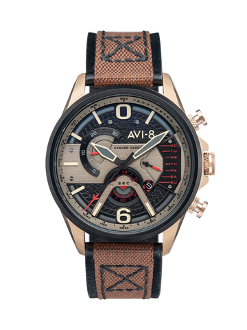 Desert Brown DUAL RETROGRADE CHRONOGRAPH 1