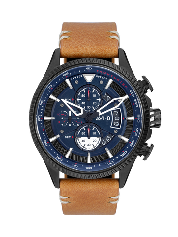 CARBON NAVY AVON CHRONOGRAPH 1