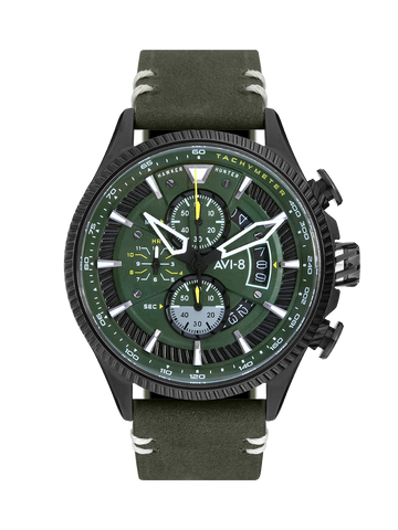 CHARCOAL GREEN AVON CHRONOGRAPH 1
