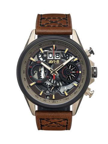 DESERT BROWN MATADOR CHRONOGRAPH 1