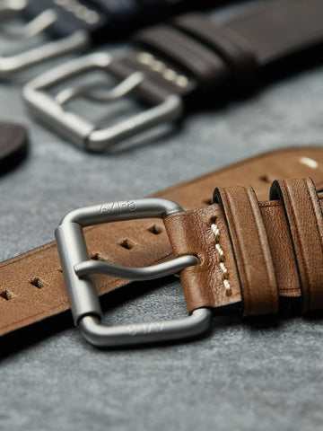 BROWN ROLLER BUCKLE STRAPS 1