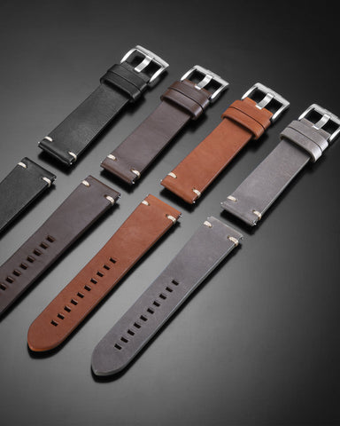 Dark Brown HORWEEN STRAPS 1