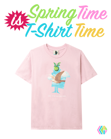 Spring Time is T-Shirt Time Hero