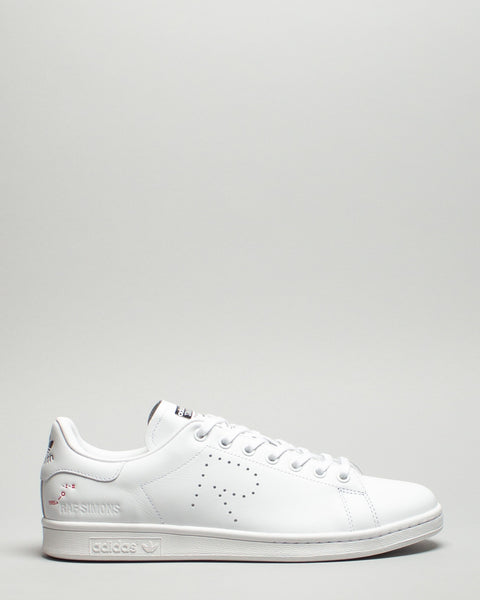 RS Stan Smith White/Cream/Core Black Adidas x Raf Simons Mens Sneakers Seattle