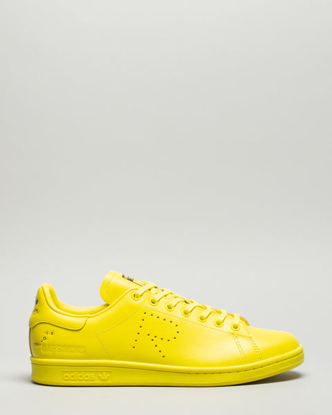 RS Stan Smith Bright Yellow/Pure Yellow Adidas x Raf Simons Mens Sneakers Seattle