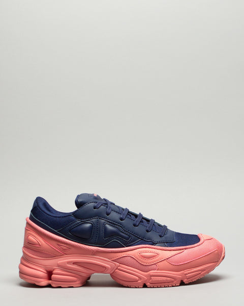 Ozweego Tactile Rose/Dark Blue Adidas x Raf Simons Mens Sneakers Seattle