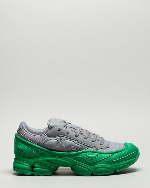 Ozweego Green/Grey Adidas x Raf Simons Mens Sneakers Seattle