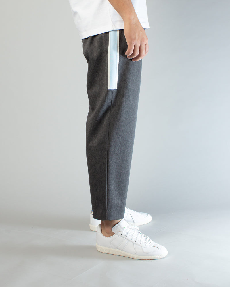 JUV4504-2 Trousers Charcoal/Light Blue