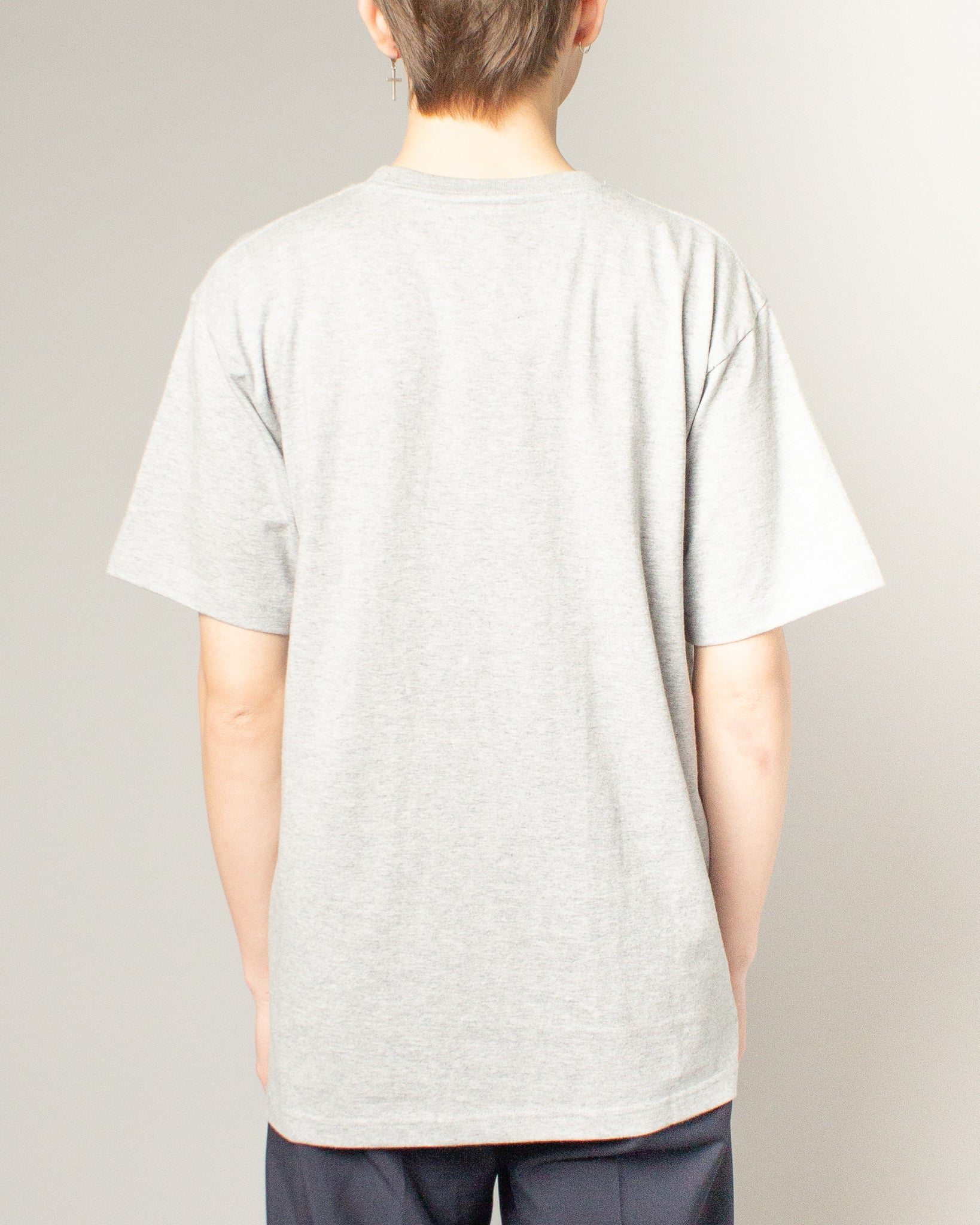 Sticker Logo Tee Grey