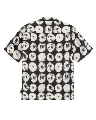 Hand Drawn Dot Shirt Black 2