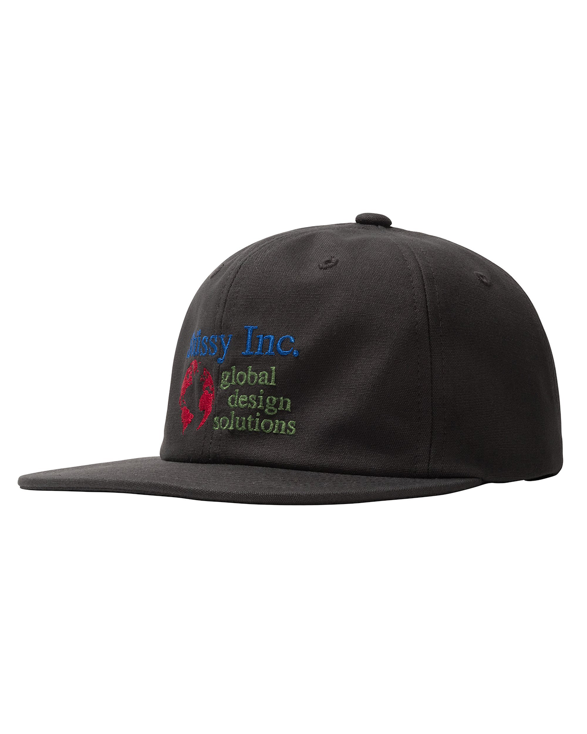 Global Designs Strapback Charcoal