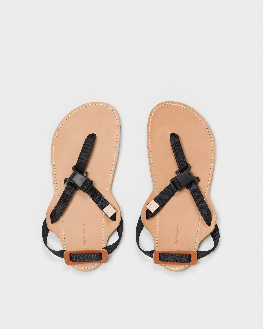 Device Strap Sandal Black/Natural
