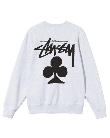 Club Crewneck Sweatshirt Ash Heather 2