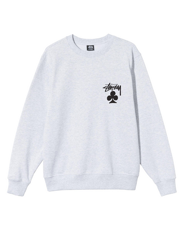 Club Crewneck Sweatshirt Ash Heather 1