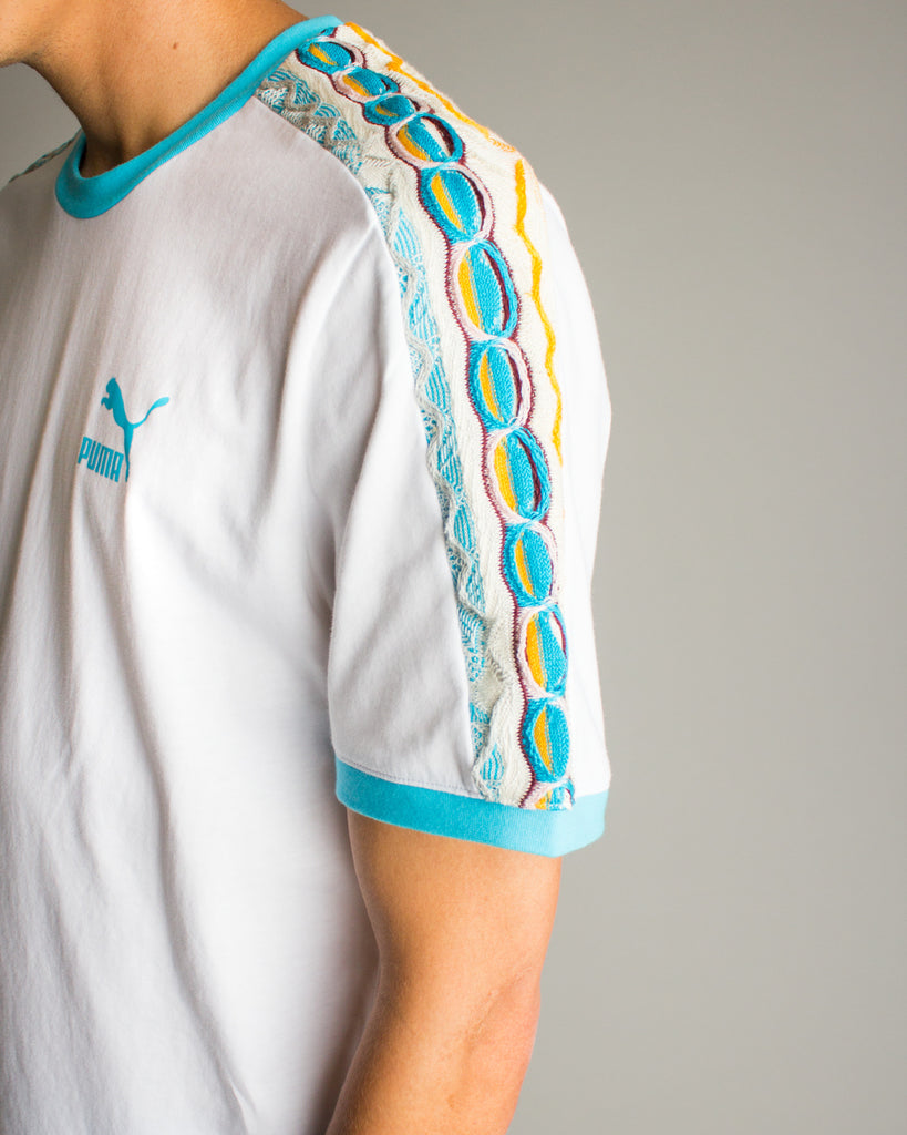 COOGI Archive T7 Tee White/Blue Atoll