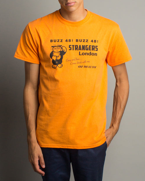 Catfish SS Tee Orange 1